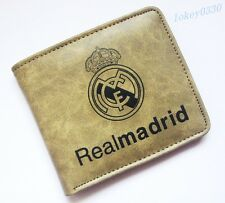 For Real Madrid wallet soccer mens ID Card Holder Billfold bifold Purse YKJR20