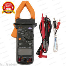 New MASTECH MS2101 AC / DC Amp Digital Clamp Meter 4000 Counts with Storage Bag
