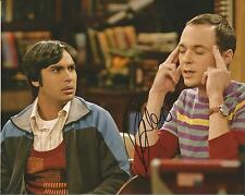 Hand Signed 8x10 photo KUNAL NAYYAR in THE BIG BANG THEORY with my COA