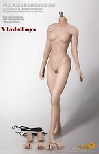 Phicen 1/6 Female Super Flexible Pale Seamless Body Series S16A USA Dealer