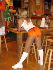XS Hooters Uniform logo Shorts Sexy fancy dress cheerleader halloween costume