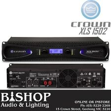 Crown XLS1502 Drivecore 2 x 525W @ 4 Ohms Pwr Amplifier