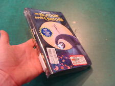 Factory Sealed VHS: The NIGHTMARE before CHRISTMAS clamshell 1994