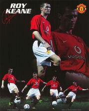 SMALL POSTER : SOCCER : ROY KEANE - MANCHESTER UNITED  FBC    #SP0083    RC44 N