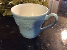 Wedgwood Queens Ware Festivity Blue Cup / Mug RETIRED