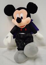 "Mickey Mouse Dracula: ""Count Mickey"" Plush (new) 13"" high"