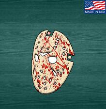 Jason Voorhees Blood Splatter Sticker Decal Friday the 13th Horror Movie