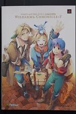 JAPAN Wild Arms Alter Code: F Official Settei Shiryoushuu (Book)