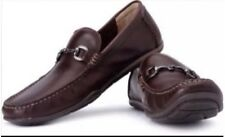 New��Clarks��UK Size 6.5 G Rengo Rolls Dark Brown Leather Shoes Loafers 40EU