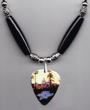 Eagles Hotel California Album Guitar Pick Necklace