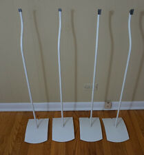 Lot of 4 Bose UFS-20 Floor Stands for Double Cube Speakers