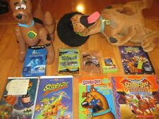 Big Scooby-Doo Lot:4in1 Book+Inflatable+Plush+Cards+5 VHS+3DVDs+BobbleHead+3Toys