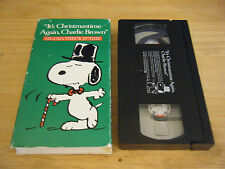 Its Christmastime Again, Charlie Brown (VHS, 1992)