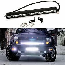 13 inch 36W CREE Spot LED Work Light Bar Fog Driving Offroad Boat SUV ATV New