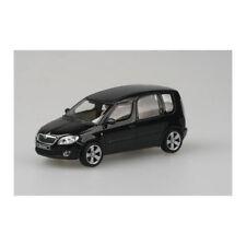 ABREX 140088 SKODA Roomster NERO modello di auto scala 1:43 NUOVO! °
