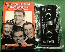 The Hilltoppers ft Jimmy Sacca P.S. I Love You Best Of Cassette Tape - TESTED
