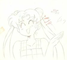 Anime Genga not Cel Sailor Moon 2 Pages #935