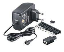 SNG-2250USB McPower Stecker Netzgerät regelbar 3-12V DC 2,25A Trafo Netzteil