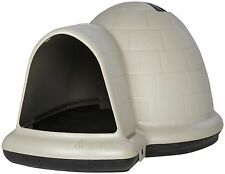 Igloo Dog House Medium Microban Insulated Indoor Outdoor Shelter Pet All Weather