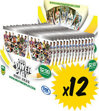 NRL 2013 RUGBY LEAGUE - Power Play Trading Cards Box ~ Sealed Case (12ct) #NEW