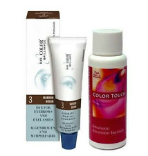 Tinte de Cejas y Pestañas Marron IonColor 15ML + Emulsión Color Touch Wella 1,9%