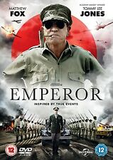 Emperor DVD Tommy Lee Jones Matthew Fox New and Sealed Original UK Release R2