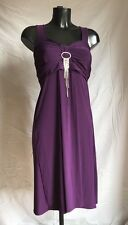 Too True Party Prom Evening Cocktail Dress Small Fitted Purple Lavender Small
