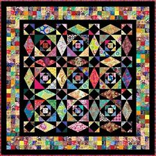 "INTRINSIC - 72"" - Pre-cut Quilt Kit by Quilt-Addicts Double size"