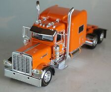 "DCP ORANGE PETERBILT 389 70"" SLEEPER CAB 1/64 DIECAST 33794"