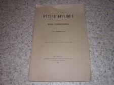1885.déluge biblique & races antédiluviennes / Jean d'Estienne