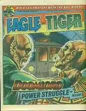 EAGLE & TIGER #166 British comic book May 25, 1985 Dan Dare VG+