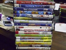 (17) Childrens Adventure DVD Lot: Disney Cars 1 & 2 Igor Robots Sky High & MORE