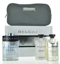Bvlgari Man by Bvlgari Gift Set 4 piece for Men 3.4 oz Eau de Toilette