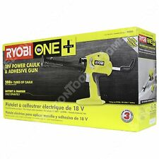 Ryobi P310G 18V Cordless Battery Powered Caulk & Adhesive Gun for P102 P103 P104