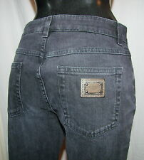 DOLCE & GABBANA Original Jeans Made in Italy  34-36  36  38 stretch grau NEU D&G