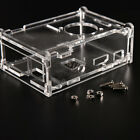Transparent Clear Acrylic Case Shell Enclosure Computer Box kit Raspberry Pi A25