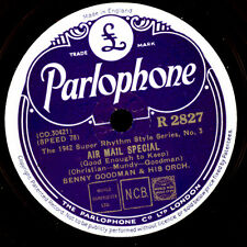 BENNY GOODMAN & HIS ORCHESTRA Air Mail Special / Tuesday at Ten      78rpm X3029