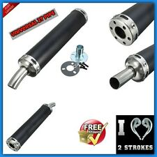 2 Stroke Exhaust Muffler Bike Universal Racing Pipe Silencer RGV NSR TZR Scooter