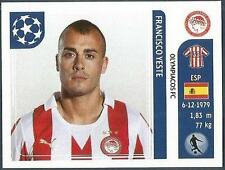 PANINI UEFA CHAMPIONS LEAGUE 2011-12- #390-OLYMPIACOS-FRANCISCO YESTE