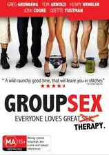 Group Sex (DVD) COMEDY the more the merrier... [Region 4] NEW/SEALED Tom Arnold