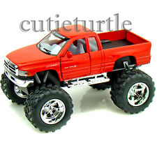Kinsmart Off Road Big Foot Monster Dodge Ram 1500 PickUp Truck 1:44 Red