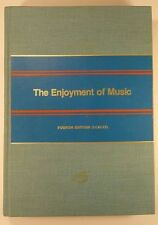 The Enjoyment of Music By Joseph Machlis - 1977 - Hardcover