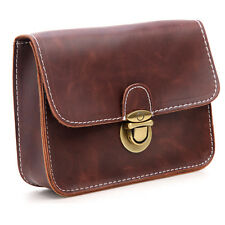 Women's Faux Leather Belt Bag Pouch Brown Waist Fanny Pack Hip Purse seller bags