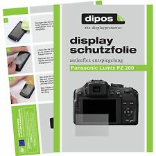 6x Dipos panasonic lumix DMC fz200 film protecteur protection d'écran antiréflectives