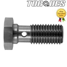 M10 x 1.0 Metric Stainless Steel Banjo Bolt 20mm Long