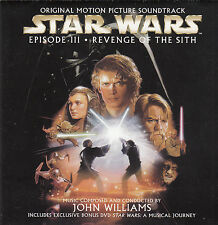 Star Wars:Episode:3-Revenge of The Sith-2002-Original Soundtrack-15 Track-2 CD