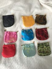 5 CHINESE CLASSIC HANDMADE Silk BROCADE GIFT JEWELRY BAGS POUCH shipped from USA
