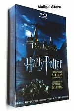 HARRY POTTER BLU RAY, 8 FILM COLLECTION COMPLETE SERIES 8 DISC SET (2011)