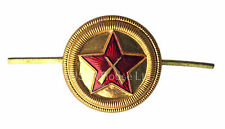Soviet USSR Army Russian Military State Security VOKHR Cap Beret Hat Metal Badge