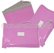 30 x Strong Large PINK Postal Mailing Bags Sacks 19x29""